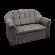Alíz 2-es kanapé sötét szűrke