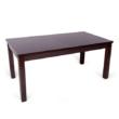 Berta asztal 160 cm wenge