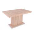 Flóra asztal sonoma tölgy