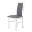 Barbi szék fehér -szüke műbörrel