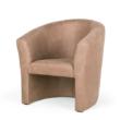Berta Elegant fotel - Drapp