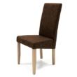 Berta szék san remo -  sötétbarna zsákszövet