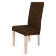 Berta szék sonoma tölgy - sötétbarna zsákszövet