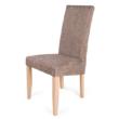 Berta szék sonoma tölgy - világosbarna zsákszövet