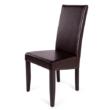 Berta szék  wenge - barna műbőr