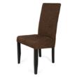 Berta szék  wenge - sötétbarna zsákszövet