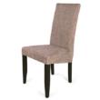 Berta szék  wenge - világosbarna zsákszövet