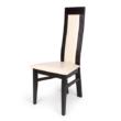 Dante szék mogyoró - beige műbőr
