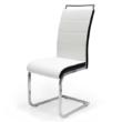 Száva szék fehér -fekete oldallal