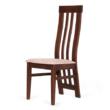 Lara szék gesztenye - világosbarna szövet