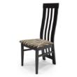 Lara szék wenge - mintás szövet