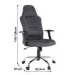Irodai szék, szürke, VAN 5