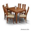 Étkezőasztal, cseresznyefa, FARO 1