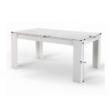 Étkezőasztal, fehér, laminált DTD, TOMY NEW 1