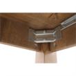 Széthúzható ebédlőasztal, tölgyfa lefkas, MONTANA STW 4