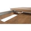 Széthúzható ebédlőasztal, tölgyfa lefkas, MONTANA STW 5