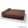 Kinyitható kanapé rakodótérrel, szürke/minta, ELIZE 1
