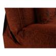Kanapé, kinyitható rakodótérrel, szövet tégla / minta, ASIA NEW 2
