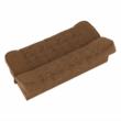 Kanapé, kinyitható rakodótérrel, szövet arany / minta, ASIA NEW 3