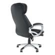 Irodai szék, fekete műbőr, ROTAR 1