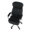Irodai szék, fekete műbőr, ROTAR 2