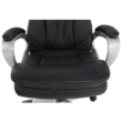 Irodai szék, fekete műbőr, ROTAR 4