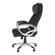 Irodai szék, fekete műbőr, ROTAR 5