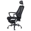 Irodai szék, fekete, SIDRO 4