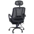 Irodai szék, fekete, SIDRO 5