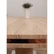 Étkezőasztal, MDF, tölgy sonoma, AMAR 1