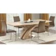 Étkezőasztal, sonoma tölgyfa, BONET 2