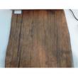 Étkező szett 1+4, fa/fehér fém, MALABO 1