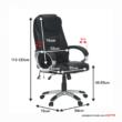 Irodai fotel, masszázs funkcióval,fekete, TYLER UT-C2652M 3