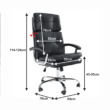 Irodai fotel, fekete, GILBERT 1
