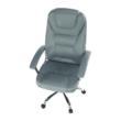 Irodai szék, világosszürke/króm, SAFIN 2