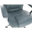 Irodai szék, világosszürke/króm, SAFIN 4