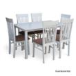 Étkezőasztal, fehér, 135 cm, ASTRO NEW 1