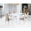 Étkezőasztal, fehér fény HG, MADOS 1