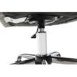 Irodai szék, szürkésbarna anyag/fém, LENER 1