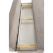 Kanapé ágyfunkcióval, anyag szürkésbarna taupe, FERIHA 5
