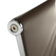 Irodai szék, textilbőr/fém, taupe/króm, FARAN 3