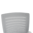 Irodai szék, fehér/szürke, CAGE 4
