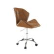 Irodai szék, barna-camel, TWIST 1