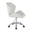 Irodai szék, fehér, TWIST 1