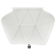 Irodai szék, fehér, TWIST 3