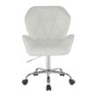 Irodai szék, fehér, TWIST 4