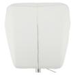 Irodai szék, fehér, TWIST 5