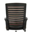 Irodai szék, narancssárga/fekete, LIZBON 1