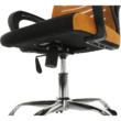 Irodai szék, narancssárga/fekete, LIZBON 3