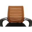 Irodai szék, narancssárga/fekete, LIZBON 4